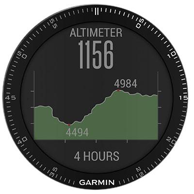 fēnix 3 altimeter