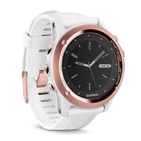 Fenix 3 Sapphire White Rose Gold Performer