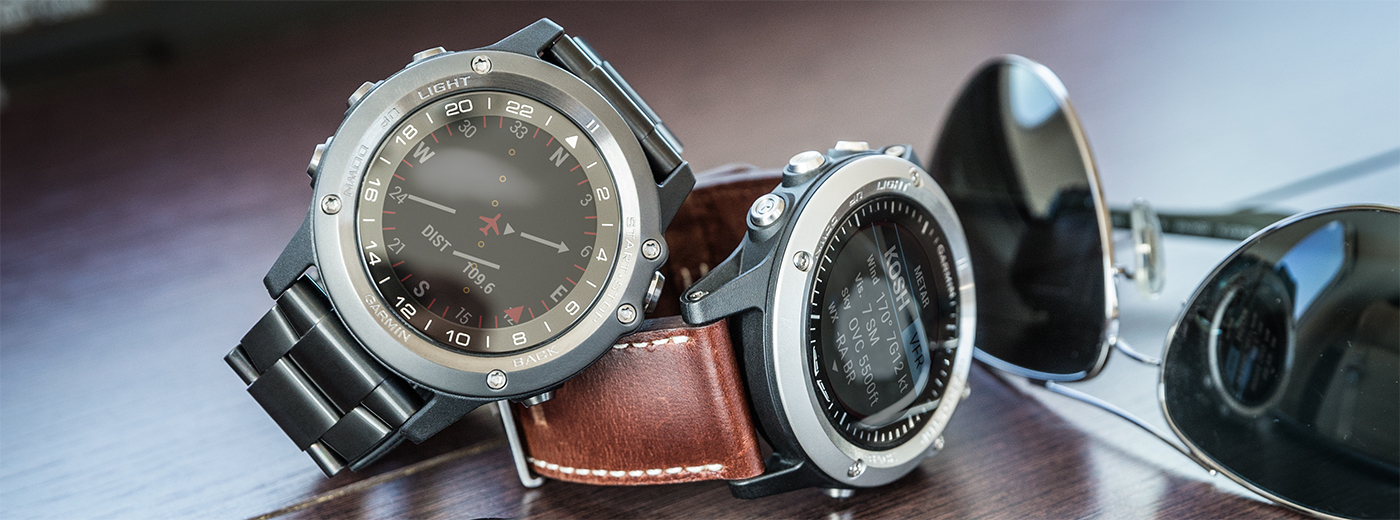 Aviation trends for 2016: an image of the Garmin D2 Bravo