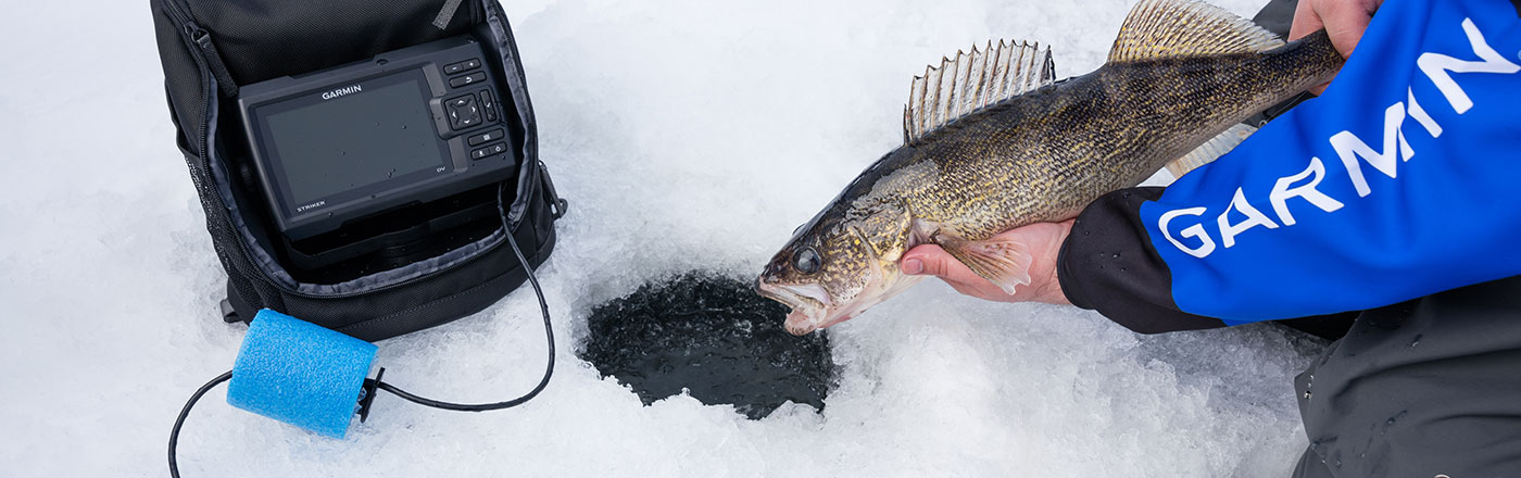 striker™ 5 ice fishing bundle | garmin, Fish Finder