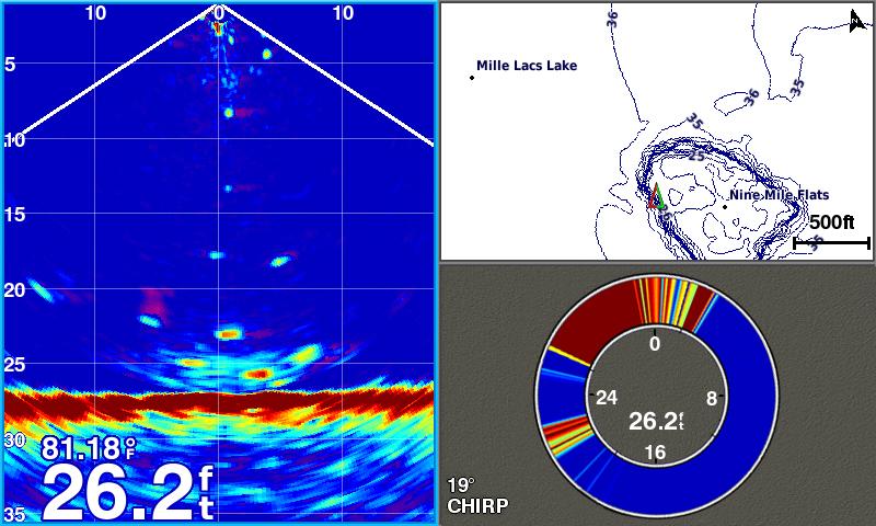 Garmin echomap chirp 72cv panoptix ice fishing bundle for Garmin panoptix ice fishing