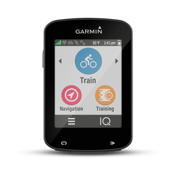 Garmin Edge 820 Start Screen
