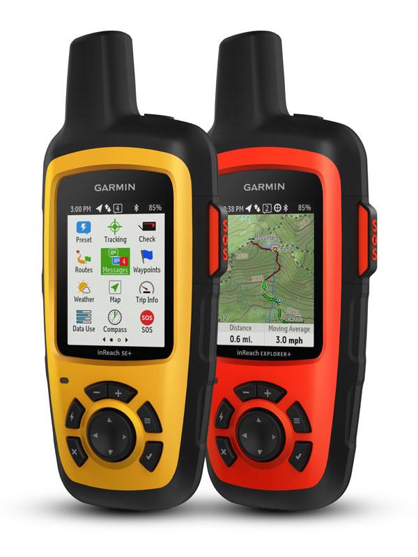 Comunicación satélital GPS Garmin inReach Explorer®+ 10