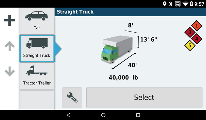 Customized Truck Routing