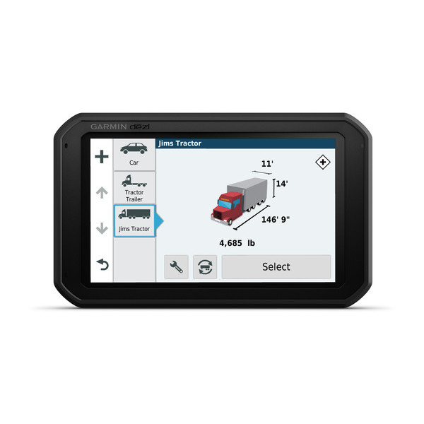 garmin gps for commercial truck drivers