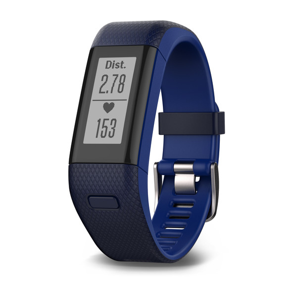 Garmin vívosmart® HR+ - Midnight Blue/Bolt Blue