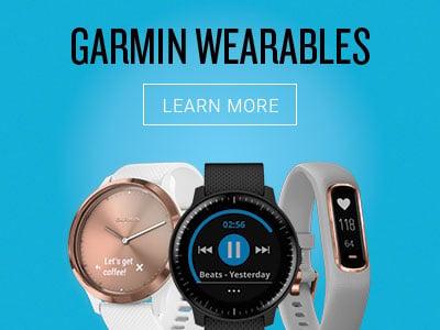 Dispositivos portátiles de Garmin - Obtenga más información