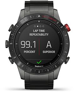 Lap time repeatability