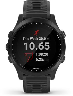 SYNCS WITH GARMIN CONNECT™