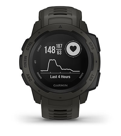 Instinct Tactical with heart rate screen