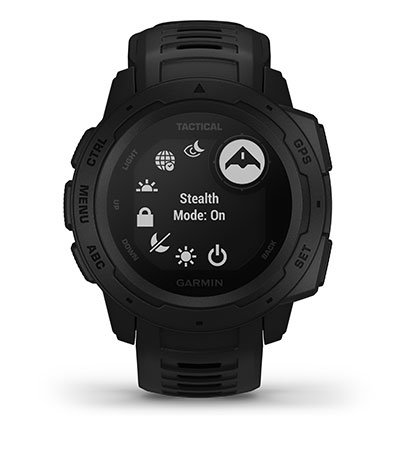 Instinct Tactical Tactical with stealth mode screen