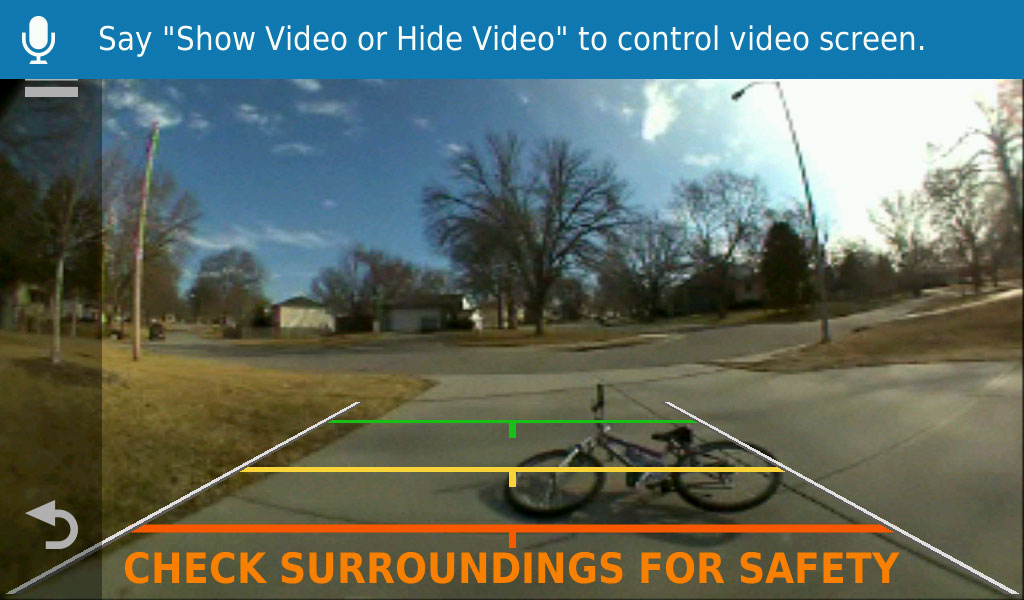Works with Garmin Backup Camera