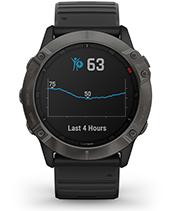 fēnix 6X Pro & Sapphire with body battery energy monitor screen