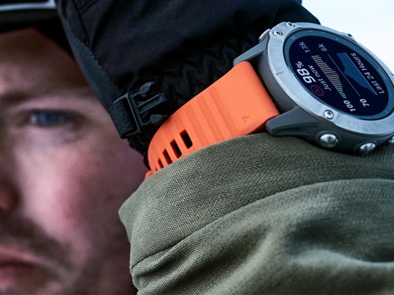 Du erreichst neue Höhen. Deine Uhr begleitet dich dabei.