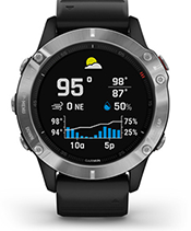 fēnix 6 with Multi-GNSS screen