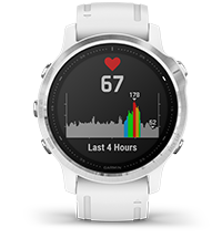 fēnix 6S with heart rate screen