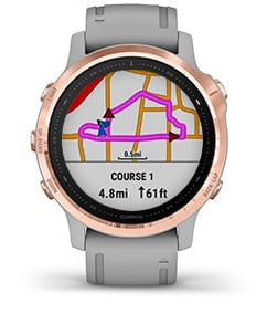 Garmin Fenix 6S Pro czarny 010-02159-14 zegarek