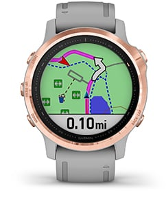 zegarek Garmin Fenix 6S Pro czarny 010-02159-14