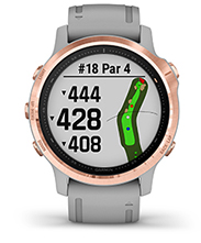 fēnix 6S Pro & Sapphire with golf courses screen