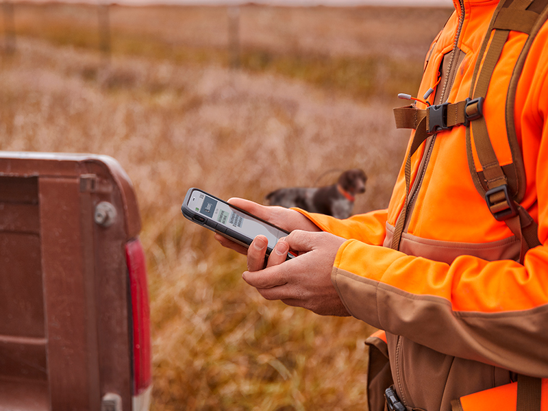 Stay in touch using inReach technology.