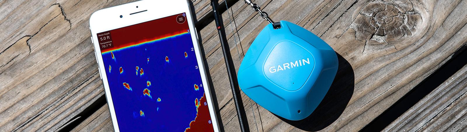 Prikaz sonarske slike ma mobilnom uređaju