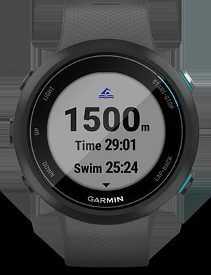 Garmin Swim™ 2 Popielaty