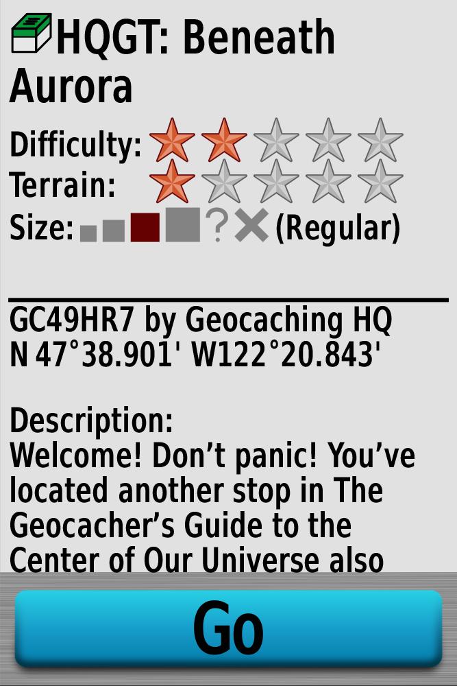 Geocaching. Ganz ohne Papier