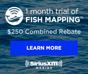 SiriusXM Marine – Get weather & fishing info on your chartplotter/MFD. $100 Rebate with hardware & subscription purchase. See Details.