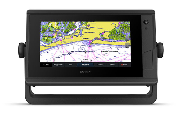 GPSMAP 722 Plus with BlueChart g3 Vision screen