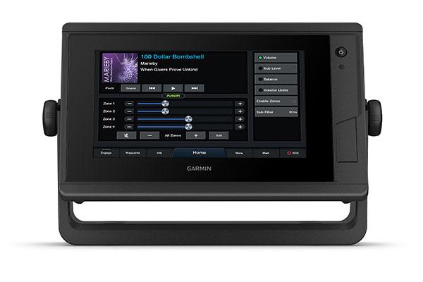 GPSMAP 722 Plus med NMEA-skärmar
