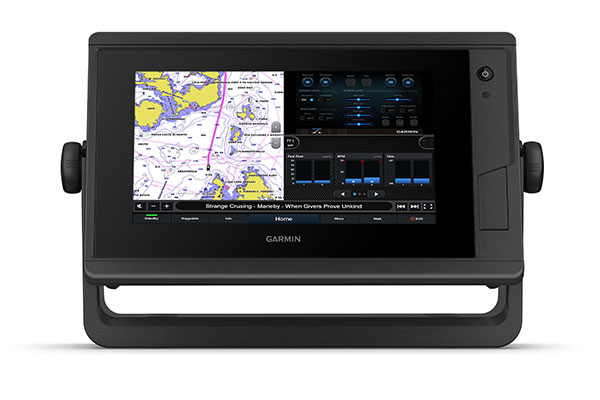 GPSMAP® 722xs Plus with J1939 connectivity screen