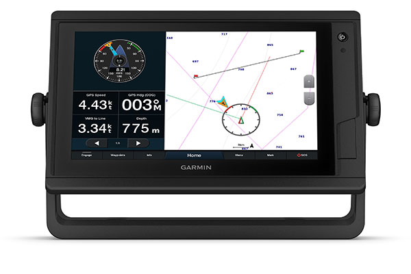 GPSMAP® 922 Plus with SailAssist screen
