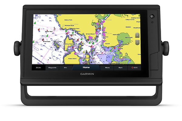 GPSMAP® 922xs Plus with BlueChart g3 Vision screen