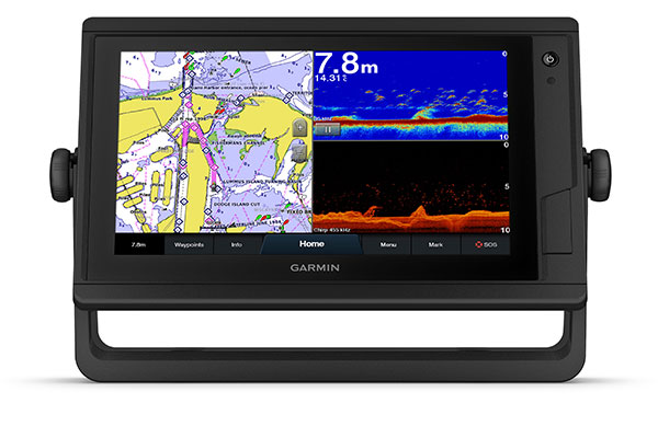 GPSMAP 922xs Plus with schermata Garmin Marine Network