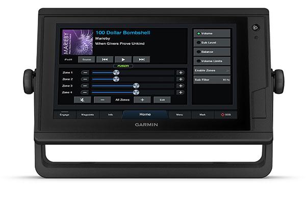GPSMAP 922xs Plus con pantallas NMEA
