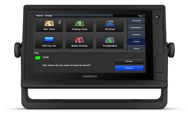 GPSMAP 922xs Plus con pantalla ActiveCaptain