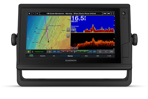 GPSMAP 952xs Plus with sonar screen