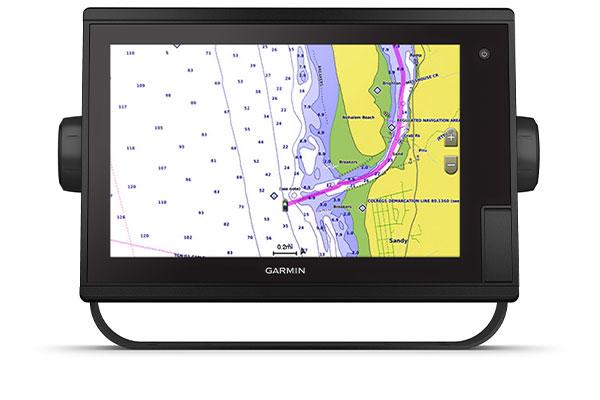 GPSMAP® 1222 Plus con schermata BlueChart g3 Vision