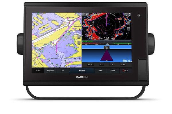 GPSMAP® 1222 Plus with schermata Garmin Marine Network