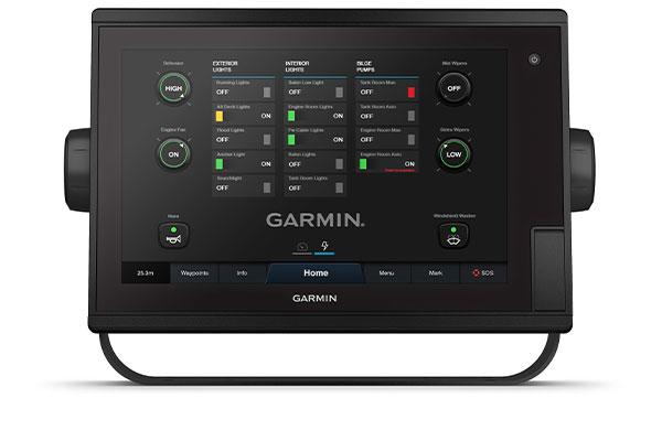 GPSMAP® 1222 Plus med skärm för OneHelm