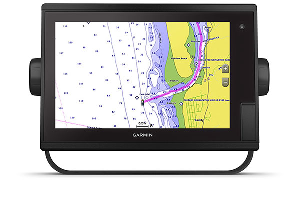 GPSMAP® 1222xsv Plus with BlueChart g3 Vision screen
