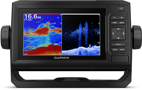 ECHOMAP UHD 65cv with sonar screen