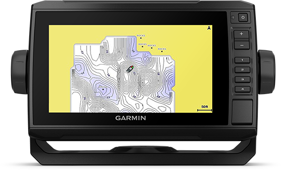 echoMAP UHD 72cv med QuickDraw-skärm