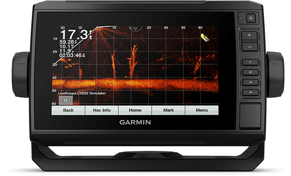 ECHOMAP UHD 72cv with sonar screen