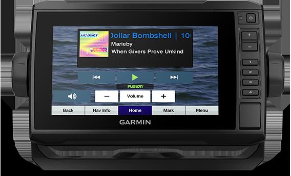 ECHOMAP UHD 73cv with NMEA screens