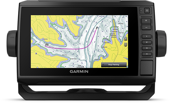 ECHOMAP UHD 73cv with mapping screen
