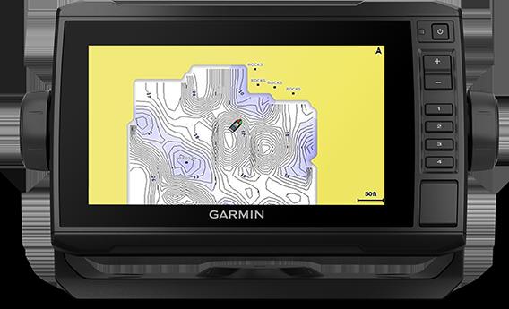 ECHOMAP UHD 73cv with QuickDraw screen