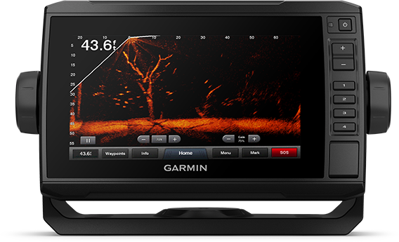 ECHOMAP UHD 75cv with sonar screen