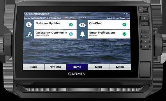 ECHOMAP UHD 93cv with ActiveCaptain screen