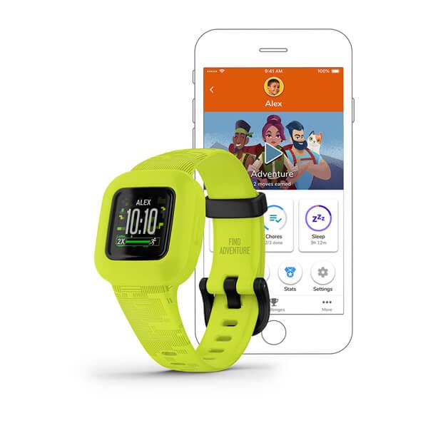 Garmin Vivofit JR 3 Kid/'s Interactive Activity Tracker